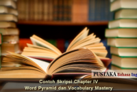 Contoh Skripsi Chapter IV Tentang Word Pyramid dan Vocabulary Mastery