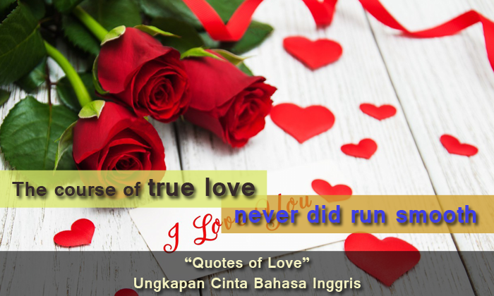 best of the best ungkapan cinta bahasa inggris quotes of love